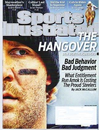 Sports Illustrated Mag May 10 2010 - Unread - Steelers Mayweather Celtics Pena