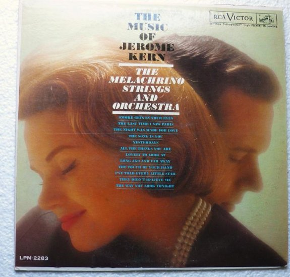 The Music of Jerome Kern lp The Melachrino Strings and Orchestra lpm-2283