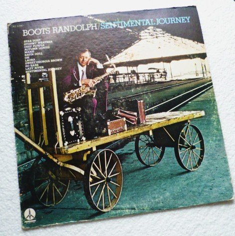 Sentimental Journey - Boots Randolph lp - 1973 Promo - kz 32292