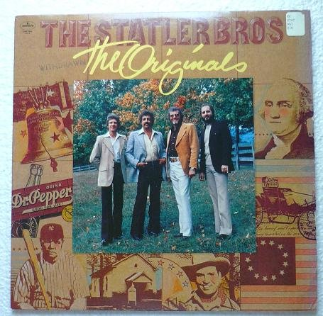 The Originals lp - The Statler Brothers 1979 Mercury srm1-5016