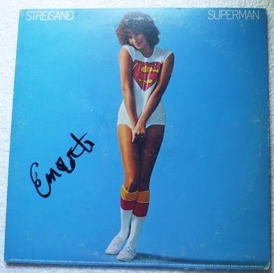 Barbra Streisand: Streisand Superman 1977 lp jc 34830 w Insert and Sleeve