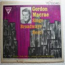 Sings Broadways Best by Gordon Macrae lp Stereo ssu 292