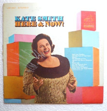 Here and Now by Kate Smith lp