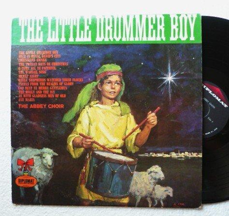 The Little Drummer Boy by The Abbey Choir - lp x1709