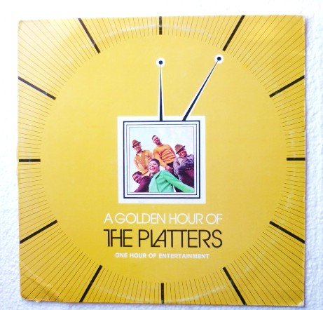 A Golden Hour of the Platters lp - ms-3231