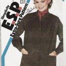 Uncut 1982 Simplicity Pattern 5655 Unlined Jacket  10 12 14