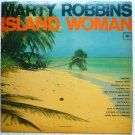 Island Woman Rare lp by Marty Robbins Red Label Mono cl 2176