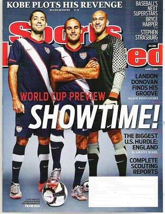 Sports Illustrated June 7 2010 - Unread - Bryce Harper Stephen Strasburg Scouting Reports