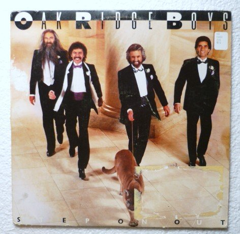 Step On Out lp by the Oak Ridge Boys mca 5555 Orig Sleeve Incl