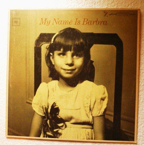 My Name is Barbra Album by Barbra Streisand - Columbia Stereo cs9136 Orange Label