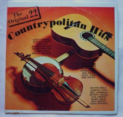 The Original 22 Countrypolitan Hits lp Several Artists s1100 ip
