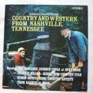 Country and Western From Nashville Tennessee lp stereo cms 1009