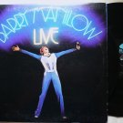 Barry Manilow Live 1977 lp Double Album al 8500 VG