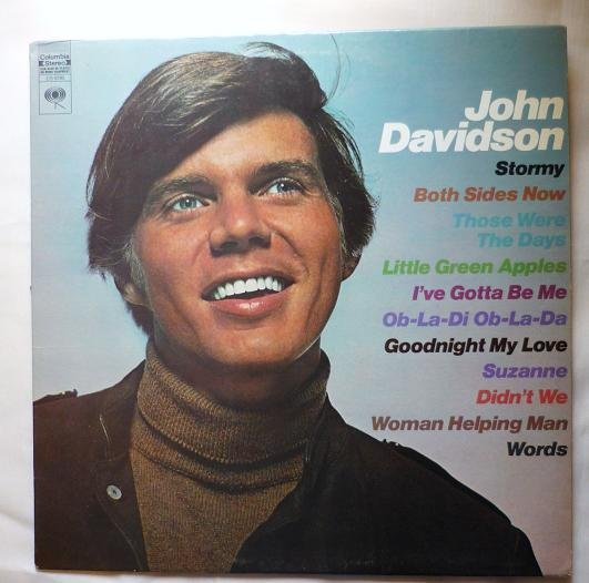 John Davidson lp ~ Self Titled ~ cs 9795