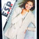 Simplicity Vintage Pattern 9413 1980s Unlined Jacket Sizes 8 10 12