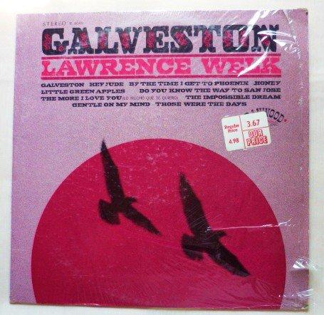 Galveston - Lawrence Welk r-8049 1969 lp One Owner