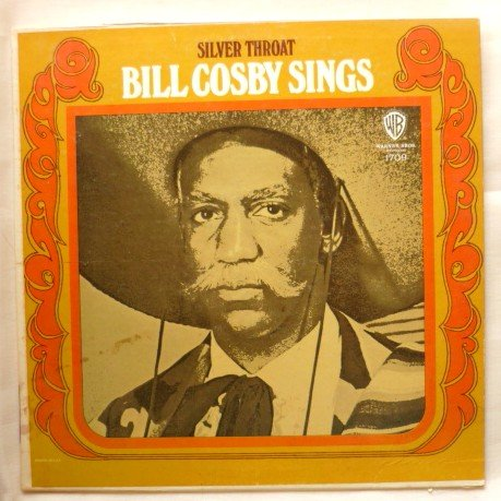 Silver Throat Bill Cosby Sings lp  A Rocking Soul Album