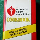 American Heart Association Cookbook 1984 Fourth Edition Hardcopy 0679509038