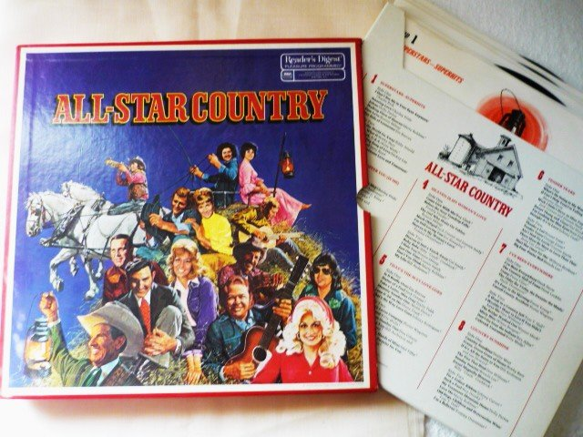 Readers Digest All-star Country 8 Album Boxed Set 1976 One Owner