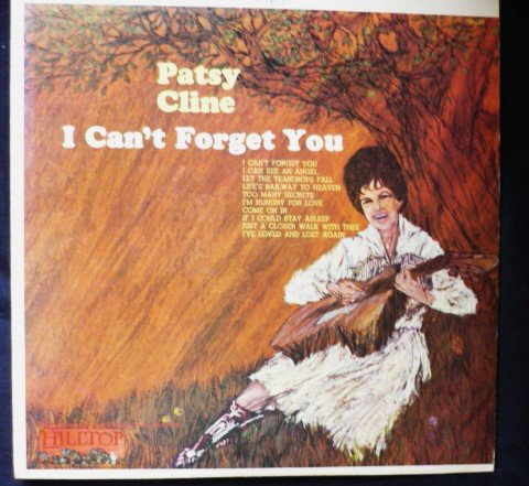 I Cant Forget You - Patsy Cline lp js-6016 Stereo