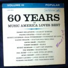 60 Years of Music America Loves Best Album Volume III Popular lop-1509