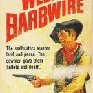 West of Barbwire - Lee Floren 1969 Western Paperback