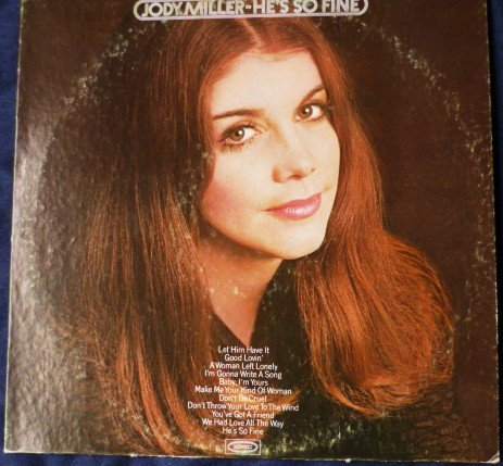 Hes so Fine - Jody Miller 1971 lp Epic E30659