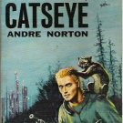 Catseye - Andre Norton - 1961 Ace F-167 Science Fiction Novel