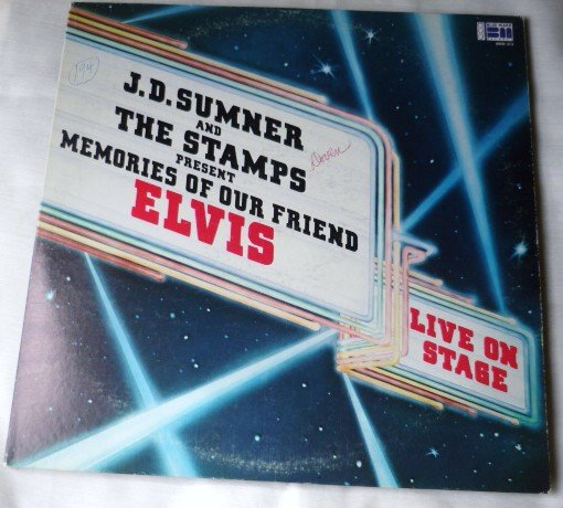 J D Sumner and the Stamps Present Memories of Our Friend Elvis - Gatefold lp bmd 373