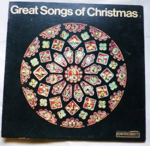 Great Songs Of Christmas Goodyear Album 9 - Various Artists lp css 1033