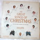 The Great Songs of Christmas - The Great Artists of Our Time lp No. Seven css 547 Average