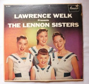 Lawrence Welk Presents the Lennon Sisters Record Album lp