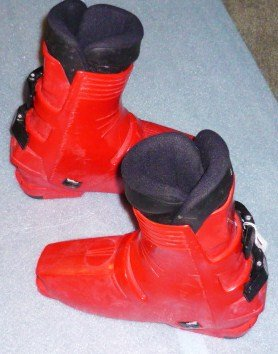 Mens Heierling tws 7880 Italy Ski Boots Sz 8 Need Heel Replacement