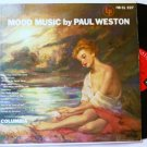 Mood Music - Paul Weston - lp cl 527 vgc - 6 eye