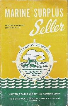 Marine Surplus Seller - September 1946 Catalog of WW2 Maritime Items for Sale