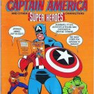 Rare: Golden Everything Workbook Captain America Super Heroes 0307064573