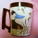 1980 National Wildlife Federation Plastic Mug Ruddy Duck