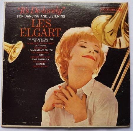 Its De Lovely by Les Elgart - Big Band 1961 Mono lp cl 1659 6 Eye Red Label