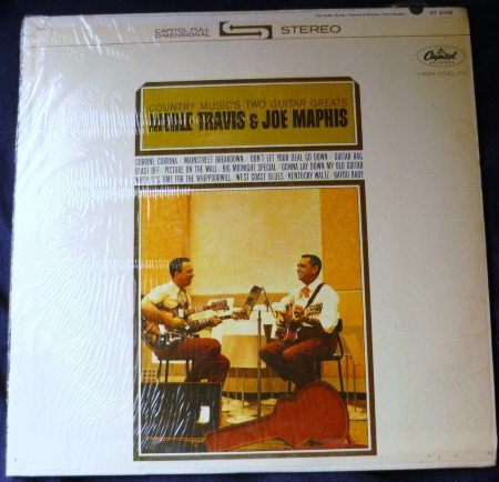 Merle Travis / Joe Maphis - Country Musics Two Guitar Greats lp st2102 Rare