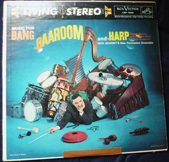 Music For Bang Baaroom And Harp -D Schory Lp lsp-1866 Stereo