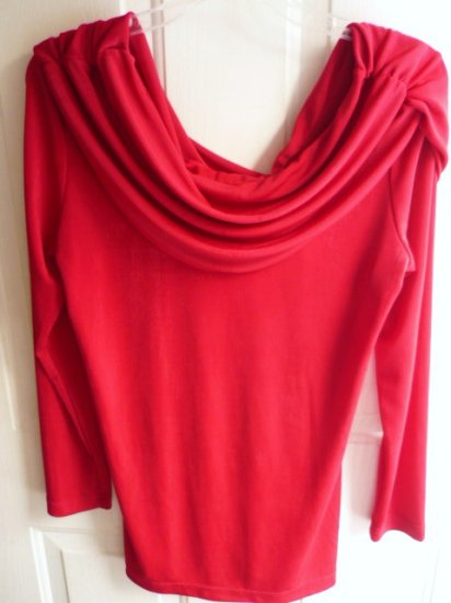 Together Swoop Neck New Slinky Top ~ Sz Small European Size 3