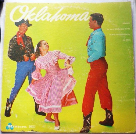 Music From Oklahoma and Others lp -  R0002 Rare Album