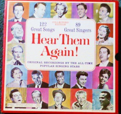Hear Them Again - Readers Digest - 10 Record lp Set by Various Artists rda 49-a