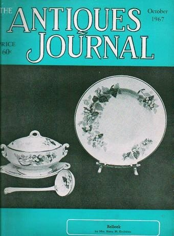 The Antiques Journal October 1967 Belleek  Stamps