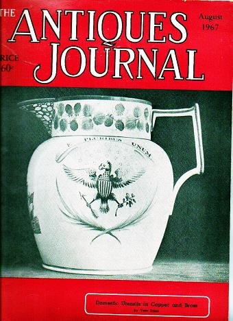 The Antiques Journal August 1967 Utensils in Copper and Brass