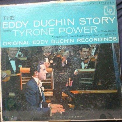 The Eddy Duchin Story - Tyrone Power - 6 eye lp cl 790