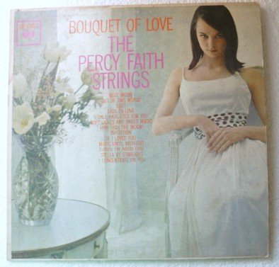 Bouquet of Love The Percy Faith Strings - 6 eye lp - cl1681 G+