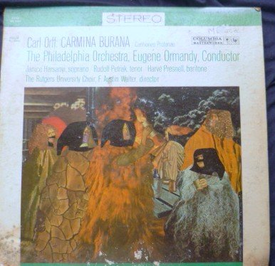 Carl Orff lp Carmina Burana Eugene Ormandy Orchestra Stereo ms6163