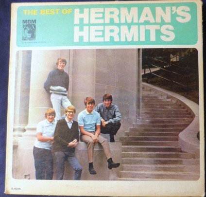 The Best of Hermans Hermits lp Gatefold Album e-4315