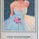 Salesmans Pin Up Advertising Calendar - January 1956